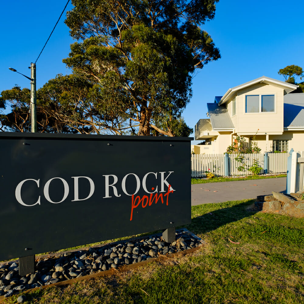 cod rock point, great eastern drive