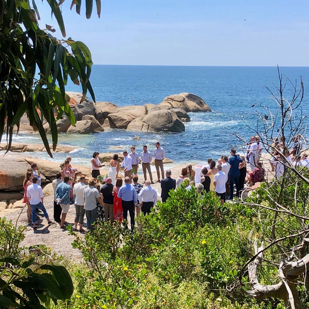 Wedding, Elopement, Cod Rock Point
